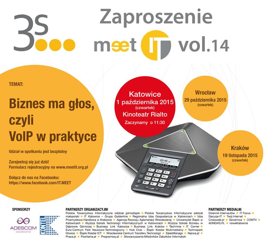 Zaproszenie na Meet IT vol 14